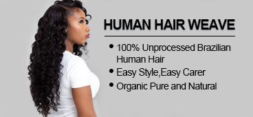 Evan Hair human hair wave banner