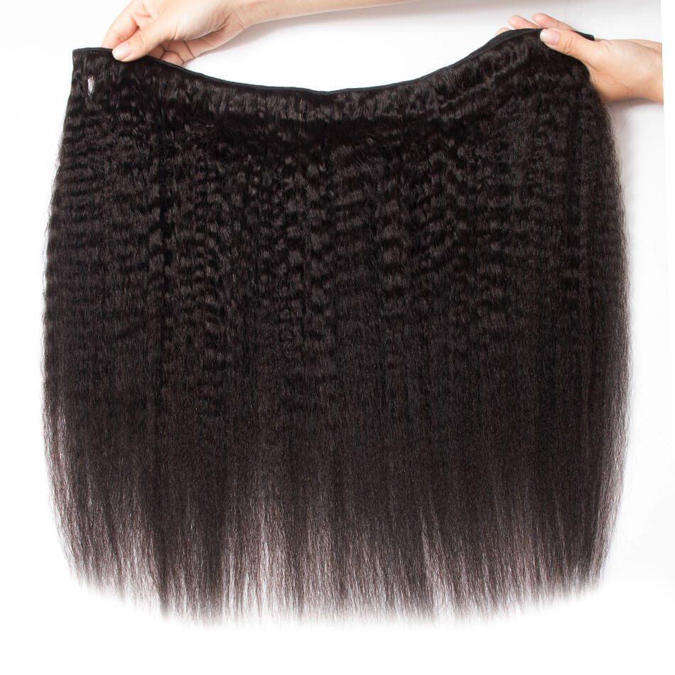 Evan Hair kinky straight 3 bundles