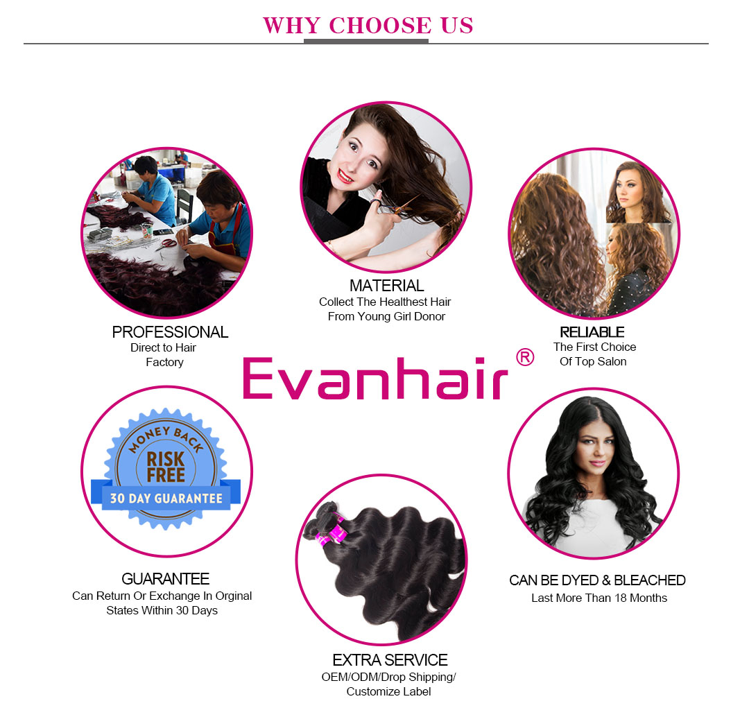 Evan Hair why choose us banner