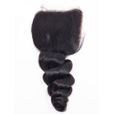 Evan hair loose wave lace closure