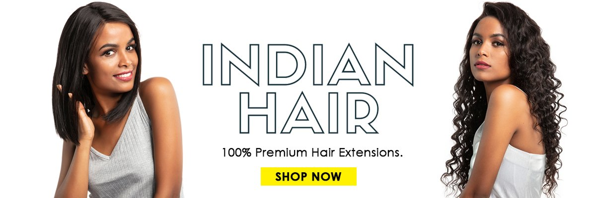 Evan Hair Indian hair banner
