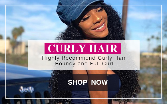 Evan Hair curly human hair highly recommend banner