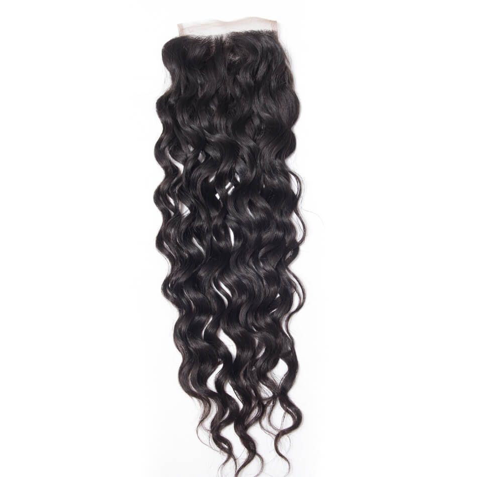 water wave closure,water wet and wavy,Brazilian water wave closure,human water wave closure,Remy water wave closure,vigin water wave closure
