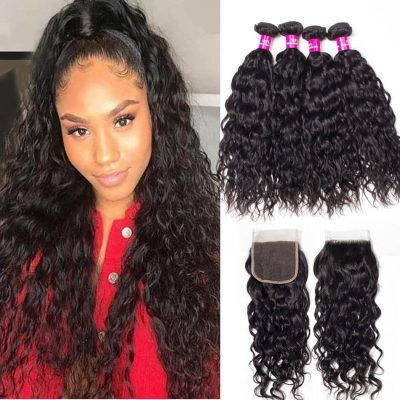water wave with closure,malaysian water wave with closure,Malaysian water wave bundles closure,water wave bundles closure,Malaysian water wave closure,Malaysian water wave bundles closure,water wave weave bundles closure,wet and wavy human hair with closure,wholesale water wave with closure