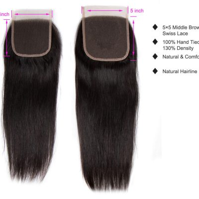 5X5 straight closure,5X5 straight hair closure,straight hair closure,5X5 lace closure,Brazilian straight hair closure,cheap straight hair closure,human straight hair closure,Remy straight hair closure,vigin straight hair closure