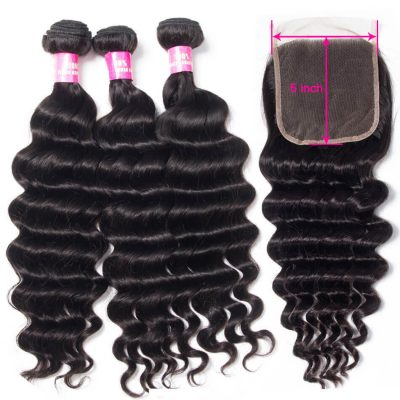 5x5 closure with bundles,loose deep wave with 5x5 closure,5x5 lace closure loose deep,loose deep hair with 5x5 closure,bundles with 5x5 lace closure,5x5 closure with 3 bundles