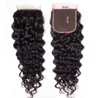 5×5 water closure,5×5 wet and wavy closure,5×5 water hair closure,water wave closure,5×5 lace closure,Brazilian water wave closure,cheap water wave closure,human water wave closure,Remy water wave closure,vigin water wave closure